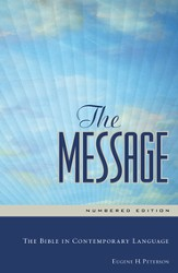 The Message: The Bible in Contemporary Language - eBook