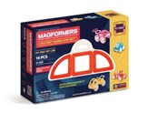 Magformers, My First Buggy Set,14 pieces, Red