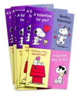 Peanuts Valentine Cards, Box of 32