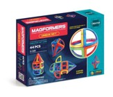 Magformers Unique Set, 44 Pieces