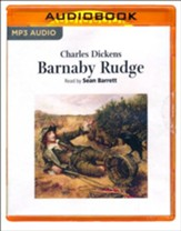 Barnaby Rudge - abridged audio book on CD
