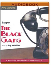 #2: The Black Gang - unabridged audio book on MP3-CD