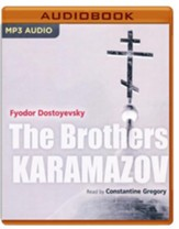 The Brothers Karamazov - unabridged audio book on MP3-CD