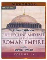 The Decline and Fall of the Roman Empire, Volume IV - unabridged audio book on MP3-CD - Slightly Imperfect