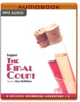 #4: The Final Count - unabridged audio book on MP3-CD
