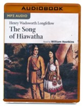 Hiawatha - unabridged audio book on MP3-CD