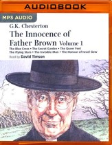 The Innocence of Father Brown - Volume 1 - unabridged audio book on MP3-CD