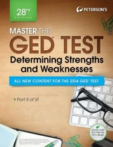 Master the GED Test: Determining  Strengths & Weaknesses: Part II of VI - eBook