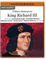 King Richard III - unabridged audio book on MP3-CD