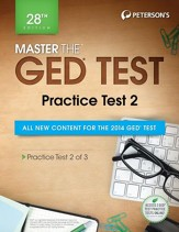 Master the GED Test: Practice Test  2: Practice Test 2 of 3 - eBook