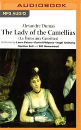 The Lady of the Camellias - abridged audio book on CD