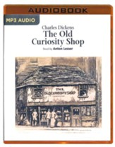 The Old Curiosity Shop - unabridged audio book on MP3-CD