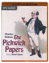 The Pickwick Papers - unabridged audio book on MP3-CD