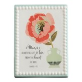 A Mom is a Beautiful Gift of Love Plaque