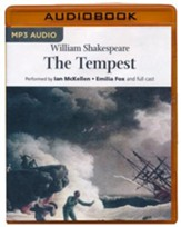 The Tempest - unabridged audio book on MP3-CD