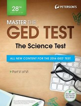 Master the GED Test: The Science  Test: Part V of VI - eBook