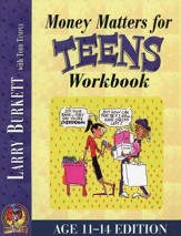 Money Matters Workbook for  Teens--Ages 11 to 14