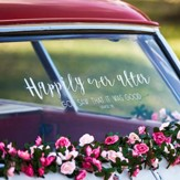 Happily Ever After Window Cling