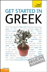 Get Started In Greek: Teach Yourself / Digital original - eBook