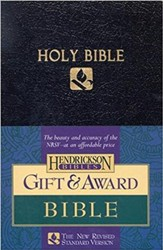 NRSV Award Bible Imitation Leather Black -- Slightly Imperfect