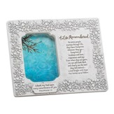 A Life Remembered Sympathy Photo Frame