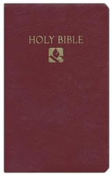 NRSV Award Bible, Imitation leather, burgundy