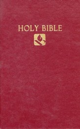 NRSV Pew Bible, Hardcover Burgundy