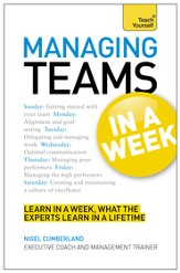 Managing Teams in a Week: Teach Yourself / Digital original - eBook