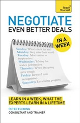 Negotiate Even Better Deals in a Week: Teach Yourself / Digital original - eBook