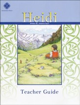 Heidi Literature Guide 5th Grade, Teacher's Edition