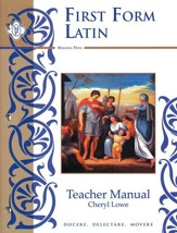 First Form Latin Teacher Manual with Answer Key For Workbook and Tests