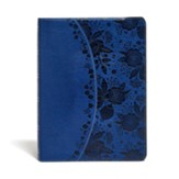 KJV Study Bible, Indigo LeatherTouch, Thumb-Indexed