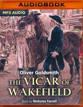 The Vicar of Wakefield - unabridged audio book on MP3-CD