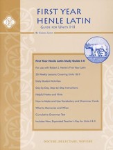 Henle Latin 1 Guide Units I-II