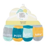 Bright Future Baby Socks, 4 Pairs