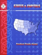 States and Capitals, Student Workbook
