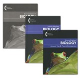 Science Shepherd Biology 3 Book Set (Textbook, Test Book,  and Answer Key), 3rd Edition