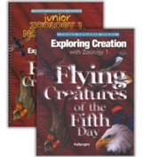 Exploring Creation with Zoology 1: Flying Creatures of the  Fifth Day Advantage Set (with Junior Notebooking Journal)