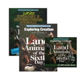 Exploring Creation with Zoology 3: Land Animals of the Sixth Day Super Set (Junior Notebooking Journal Edit.)