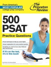 500 PSAT Practice Questions - eBook