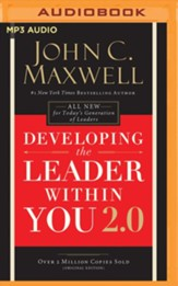 Developing the Leader Within You - unabridged edition on MP3-CD