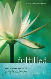 Fulfilled: The NIV Devotional Bible for the Single Woman - eBook