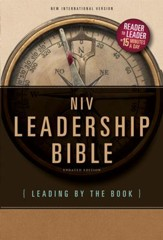 NIV Leadership Bible: Leading by The Book - eBook