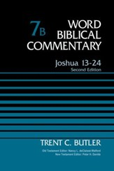 Joshua 13-24, Volume 7B: Second Edition / New edition - eBook