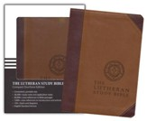 ESV Lutheran Study Bible - Compact DuoTone, Brown