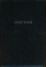 KJV Super Giant Print Reference Bible, Imitation leather, black - Slightly Imperfect
