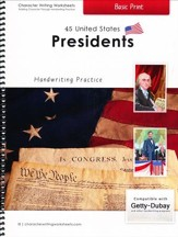 45 United States Presidents: Basic Print, Getty-Dubay  Edition