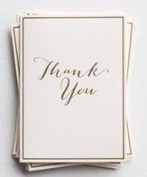Thank You Note Cards, Pack of 10