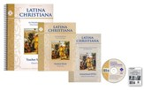 Latina Christiana I Texts, DVDs & Flashcards Set (Updated)