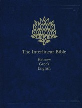 The Interlinear Hebrew/Greek-English Bible One Volume - Slightly Imperfect